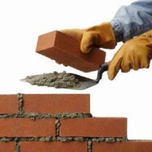 ساخت دیوار آجری